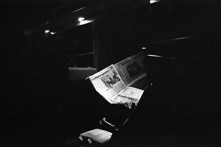newspaperintrain